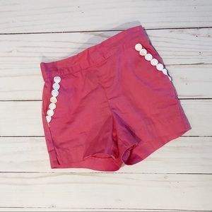 Janie & Jack Baby Girls 6-12M Pink Shorts